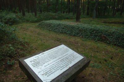 Gedenktafel im Neu Lüblower Wald