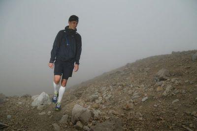 Christoph Frey beim Marathon zur Zugspitze im Juli 2015