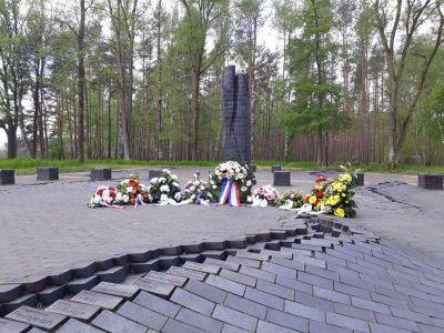Gedenkplatz am ehemaligen Lagergelände des KZ Wöbbelin