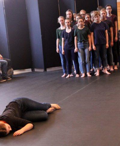 """Tanztheater Lysistrate des Goethegymnasiums Schwerin mit dem Projekt """"TrotzTdem"""""""