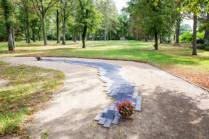 Ehrenfriedhof für Opfer des KZ Wöbbelin (Foto: Björn Pauli)