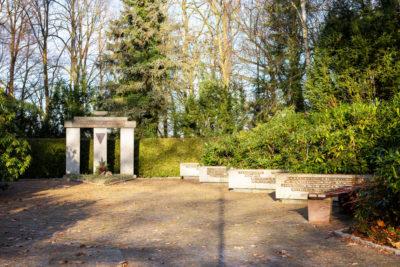 VVN-Gedenkstätte auf dem neuen Friedhof (Foto: Björn Pauli)