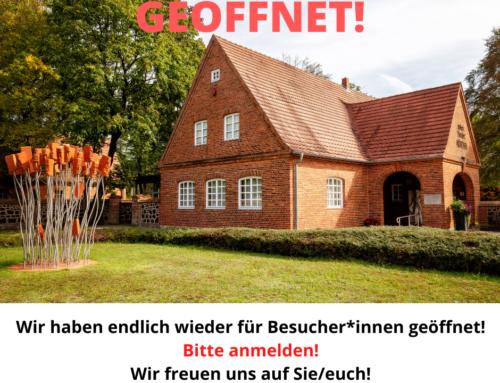 GEÖFFNET!