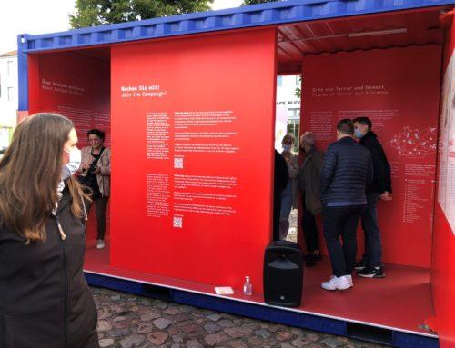 Eröffnung Open-Air-Ausstellung #StolenMemory in Ludwigslust